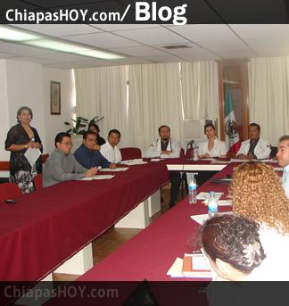 Aguilera de Sabines constató cada una de las medidas preventivas para  proteger a las familias chiapanecas